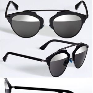 "DIOR ""So Real"" Mirrored Sunglasses 🕶"